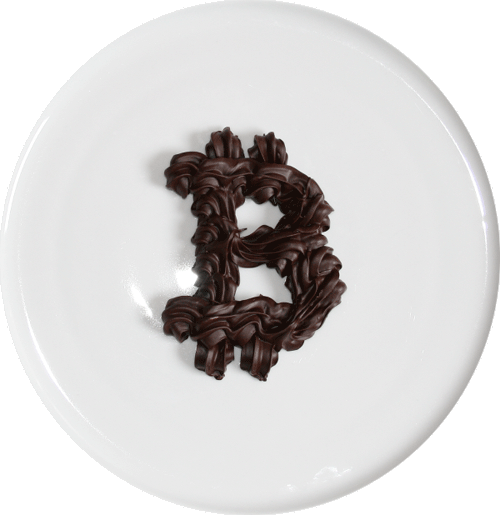 Bitcoin Chocoladeletter